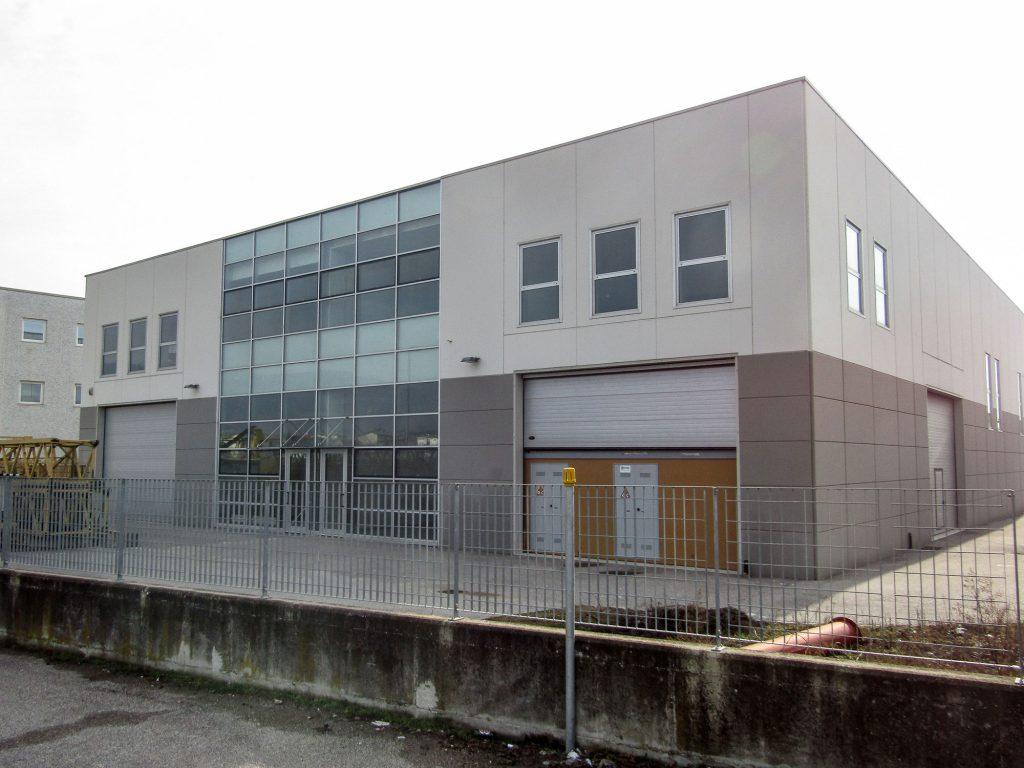 Arbizzano (Costruzione capannone industriale)